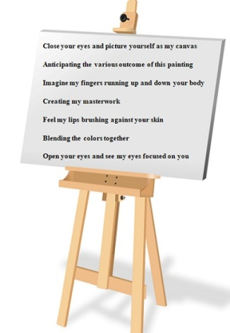 Horizontal Easel Painting